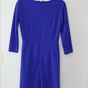 Forever 21 Dresses - Forever 21 Cobalt Blue Bodycon Dress w/ ¾ sleeves